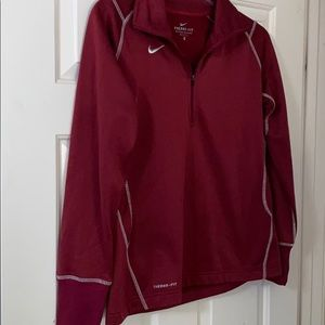 garnet nike therms-fit jacket